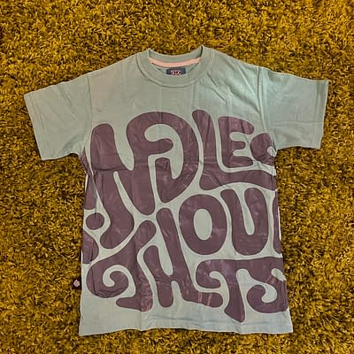 Mindless Thoughts Classic t-shirt (teal)